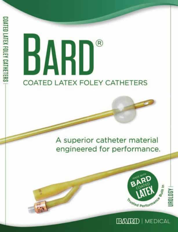 Bard Coated Latex Foley Catheter
